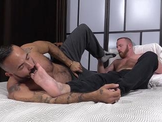 Red and Alessio Romero Worship Each Others Feet -