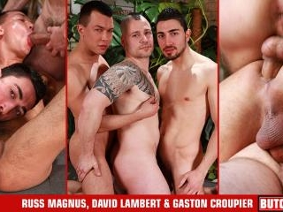 Russ Magnus, Gaston Croupier, David Lambert