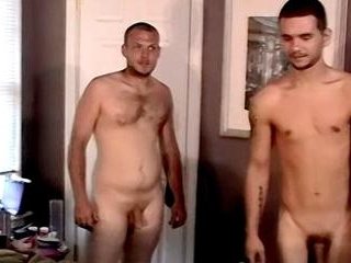 Str8 Boys Share A Cock Sucker - Brian And Taz
