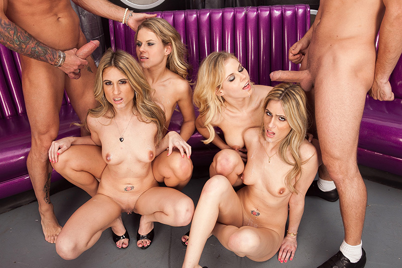 Drunk horny orgy sex stage