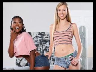 Seducing My Straight White Best Friend! - Haley Re