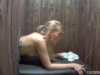 Young Girls Having First Time Glory Hole Experienc
