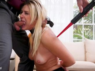 Agent India Summer\'s Ass is Destroyed by Son-In-La