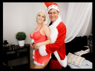 Miss Claus Cheats on Santa with a Elf with a Huge