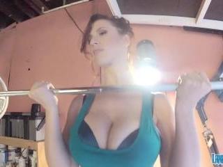 Lana Kendrick - Workout Hottie GoPro 1