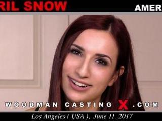 April Snow casting