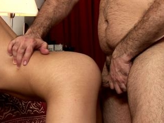 Old gay freak films POV anal with a boy