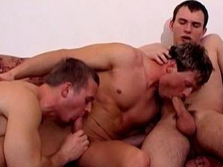 Marek, Petr, Jan Chain Fuck Raw