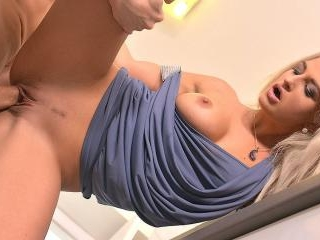 Kitchen Penetration: Stud Fucks Blonde On Countert