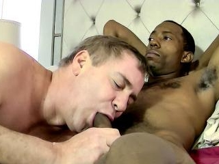 Curious Black Guy Silk Gets Sucked - Silk & Joe