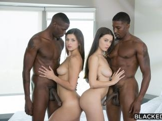 Blacked - Lana Rhoades, Leah Gotti