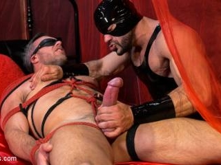 Bound Valentine: Alex Mecum Covered in Wax, Suspen