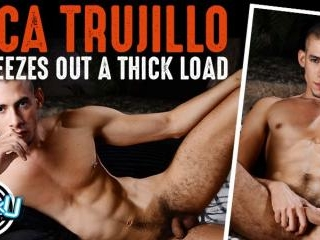 RICA TRUJILLO SQUEEZES OUT A THICK LOAD