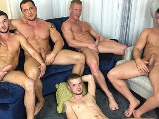 American Muscle Hunks & Jason Sparks Live in Chica