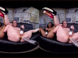 Virtual Reality - Two Girls One Fucking Machine!