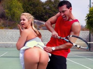 Sarah Vandella goes balls to the wall