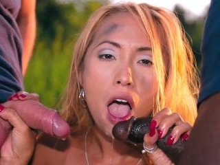 Busty Jane Darling Enjoys Anal with a Cuban Stud