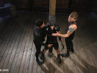 Monster Cocked Noob Blindfolded, Gagged, and Edged