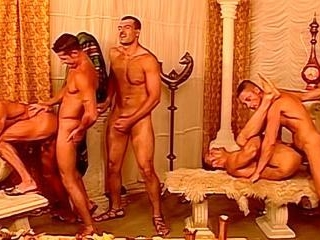 Renato Bellagio & Claudio Antonelli Hot Orgy - Ren