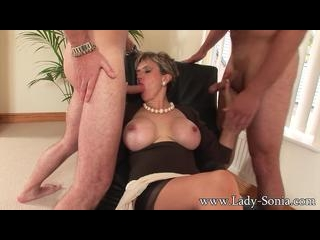 Unfaithful wife threesome
