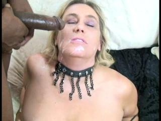 Renee LeBlanc Sucks And Jerks Two Big Black Cocks