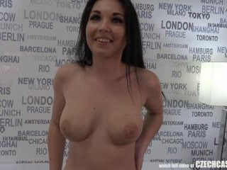 Seductive Busty Mother Nikola Plays with Agents Co