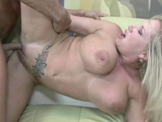 Mature blonde Rachel Love lets her landlord fuck h