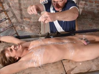 Twink Stretched And Stroked! - Casper Ellis And Se