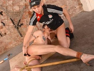 An Arse Stretching Pounding - Timmy Treasure And D