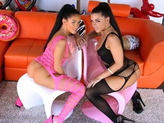 Anal And Squirting Fun With Adriana And Megan
