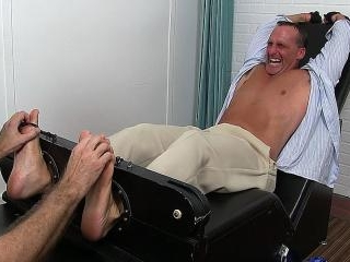 Sebastian Finally Bound and Tickled