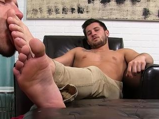 Boss Alex Gray Foot Worshipped