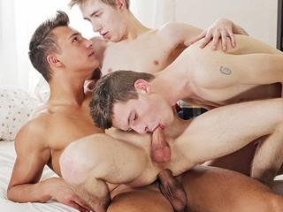 Two Horny Twinks Get Their Empty Holes Well & Trul