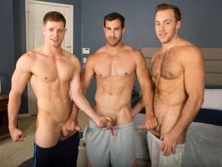 Bareback Threeway with Randy, Dean, Cory