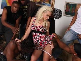 Jada Stevens SixBang - Blacks On Blondes