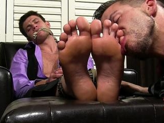 Aleck Captured and Foot Worshiped