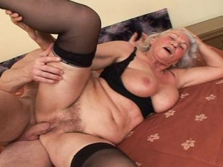 Grandma\'s Hairy Pussy