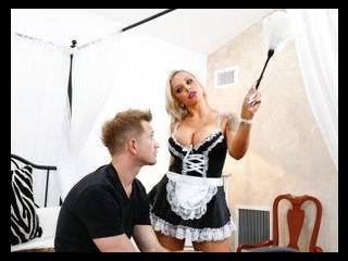 French Anal MILF Maids - Nina Elle