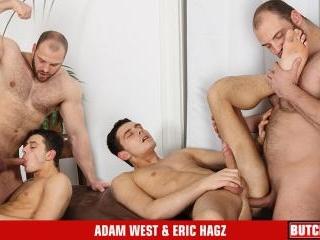 Eric Hagz & Adam West