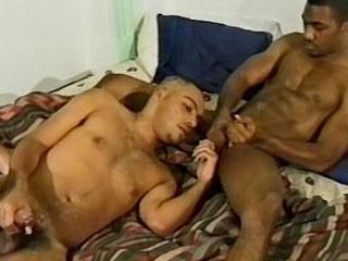 Black Dude Blows Fellow Thug Stud - Roland & Maxwe