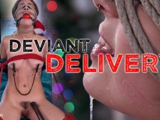 Deviant Delivery: Kristen Scott Gets Holiday Torme