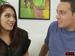 Mischa Brooks gives her blowjob skills