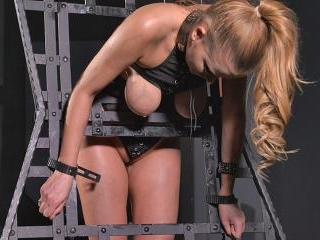 Dirty Minds: Brunette Fetish Babe Shows Her Glamou