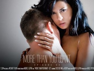 More Than You Want Part 3