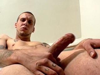 Inked Thug PS Strokes Out A Load - PS