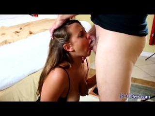Maria Jade amazing cum swallowing deepthroat blowj