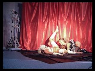 BTS-Silvia and Jessie Are Halloween Hotties