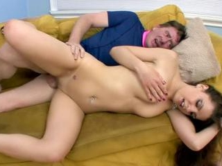 Rachel Ryder Fucks Her Stepdad On the Couch