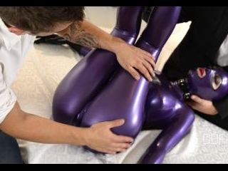 Latex Spanking Therapy, Part 1