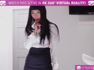 VR Bangers Room service Japanese girl gets FUCKED